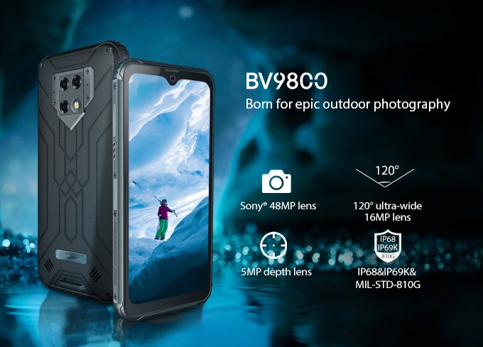 "Review of the ""Blackview BV9800 Pro"" smartphone with thermal imaging camera"
