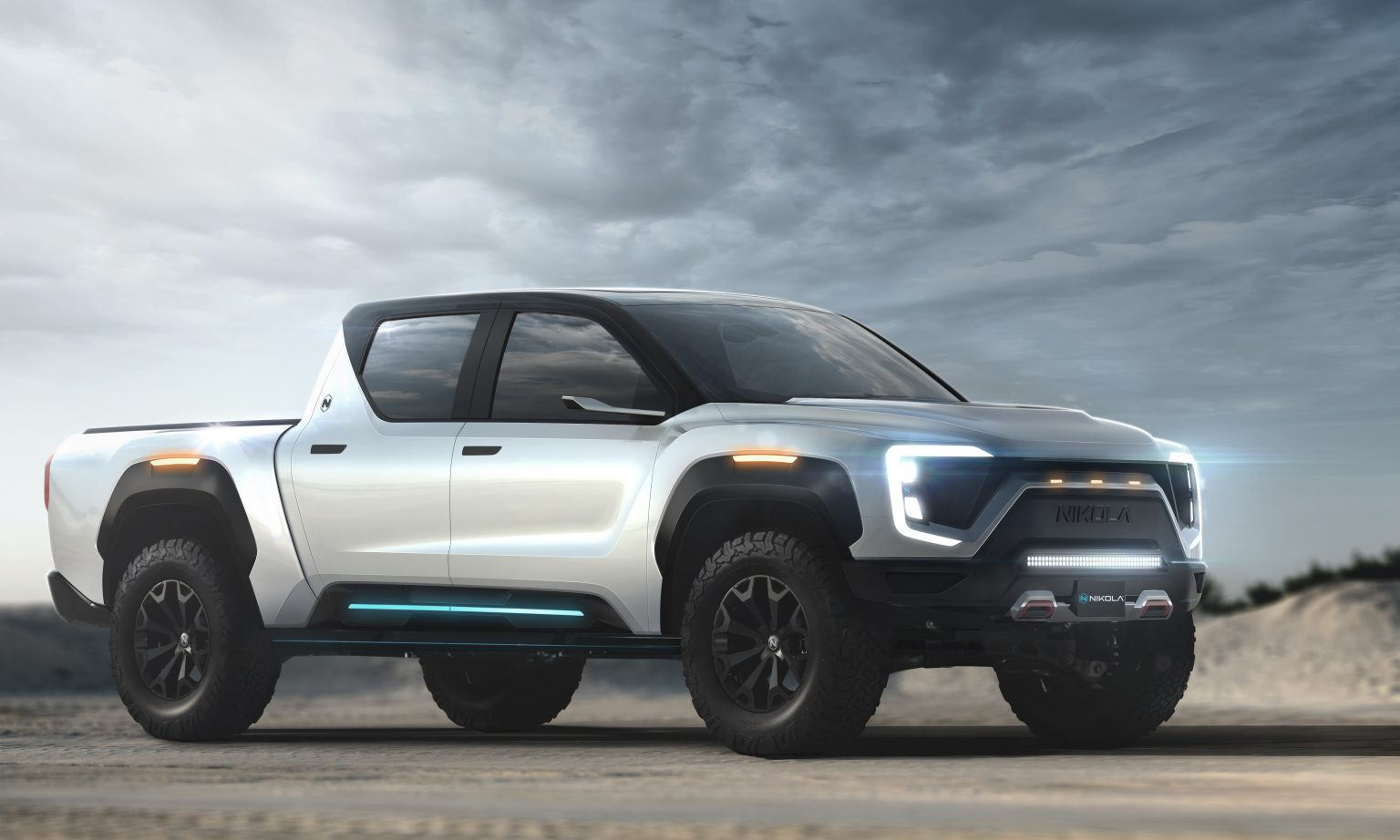 Competitor of the Tesla: in the USA was presented concept of electric pickup Nikola Badger