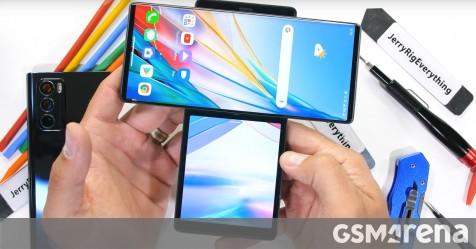 LG Wing teardown reveals a unique swivel mechanism
