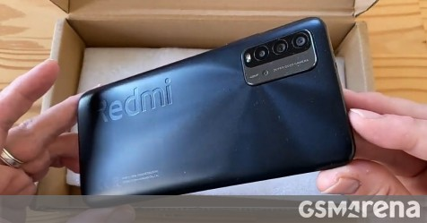 Redmi 9T appears in an unboxing video, tipped to arrive on January 8