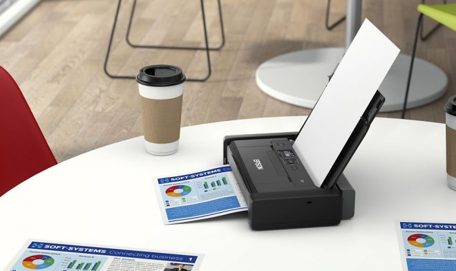 Epson has released the most portable printer in the world.
